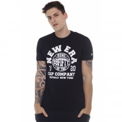 camiseta new era cap co preto h0322