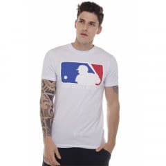 camiseta new era logo mlb branco h0271