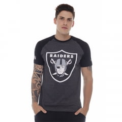 camiseta new era oakland raiders nfl preto h015