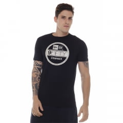 camiseta new era strap back preto h0082