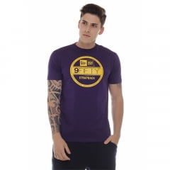 camiseta new era strap back roxo h0081