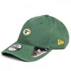 Boné Green Bay Packers New Era 39Thirty aba curva verde
