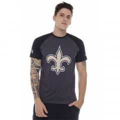 camiseta new era new orleans saints preta nfl