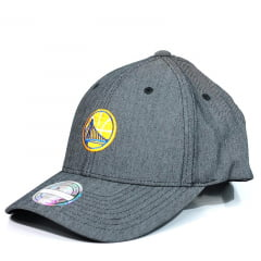 Bone Golden State Warriors Mitchell and Ness snapback cinza