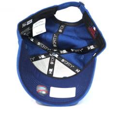 Bone Los Angeles Dodgers New Era 9forty strapback azul 83b4fefb024
