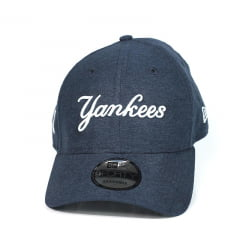 Bone New York Yankees New Era 9forty strapback azul marinho 87f22f9d2edf5