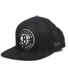 Bone Brooklyn Nets New Era 9fifty preto