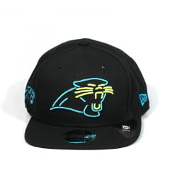 Bone Carolina Panthers New Era 9fifty preto