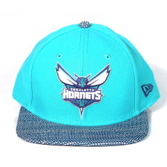 5b57384a44e6b Bone Charlotte Hornets New Era 9fifty snapback azul