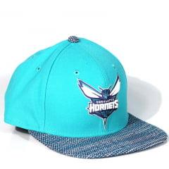Bone Charlotte Hornets New Era 9fifty snapback azul