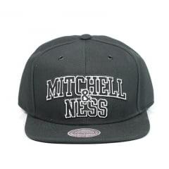Bone Mitchell and Ness snapback preto