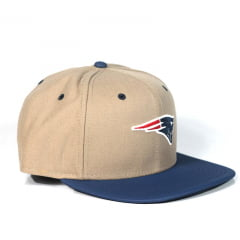 Bone New England Patriots New Era snapback azul
