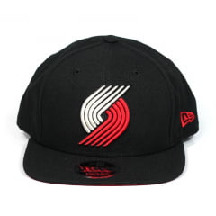 Bone Portland Trail Blazers New Era 9fifty preto