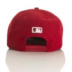 Bone Brooklyn Dodgers New Era vermelho aba reta