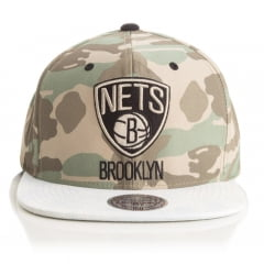 Bone Brooklyn Nets Mitchell and ness camuflado