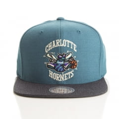 Bone Charlotte Hornets Mitchell and ness heathe