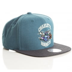 Bone Charlotte Hornets Mitchell and ness heathe