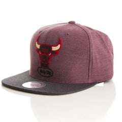 Bone Chicago Bulls Mitchell and ness heathe snapback