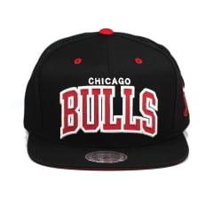 Bone Chicago Bulls Mitchell and Ness snapback reflective