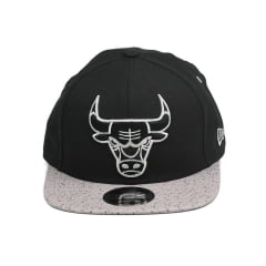 Bone Chicago Bulls New Era 9fifty concrete blk