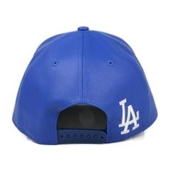 Bone Los Angeles Dodgers New Era 9forty leather script