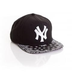 Bone New Era 9fifty New York Yankees bandana