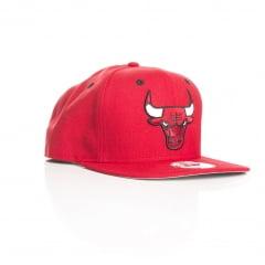 Bone New Era Chicago Bulls 9fifty vermelho otc