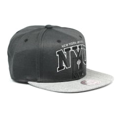 Bone New York University Mitchell and Ness snapback