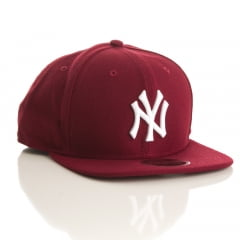 Bone New York Yankees New Era 9fifty cardinal