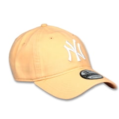 Bone New York Yankees New Era 9twenty laranja