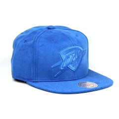 Bone Oklahoma City Thunder Mitchell and Ness snapback azul