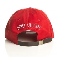 Bone Other Culture tedy aba curva vermelha
