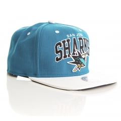 Bone San Jose Sharks Mitchell and Ness offside