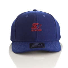 Bone Starter aba curva snapback azul