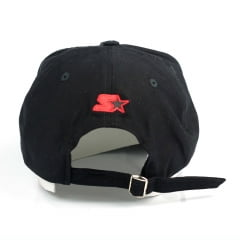 Bone Starter fire mini logo aba curva strapback