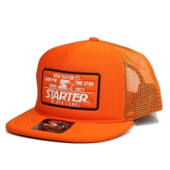 Bone starter trucker aba reta laranja