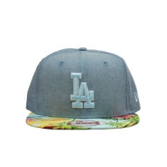 bone new era los angeles dodgers 950 island visor azul sky