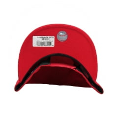 bone new era oakland athletics 950 basic vermelho