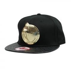 bone new era yums 950 black gold