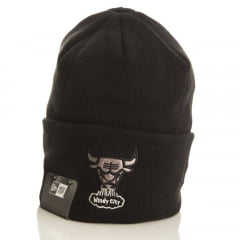 Gorro Chicago Bulls New Era logo luster
