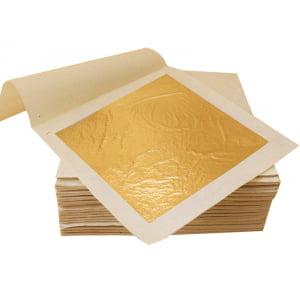 Folha de Ouro Imitação para Artesanato