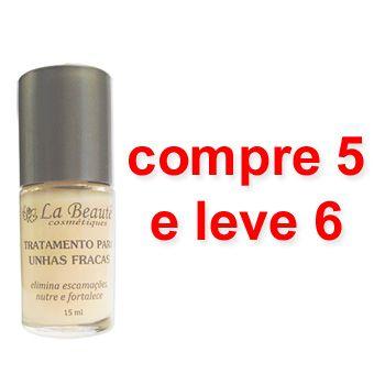 Tratamento Para Unhas Fracas 5 x 1 = 6 - La Beauté