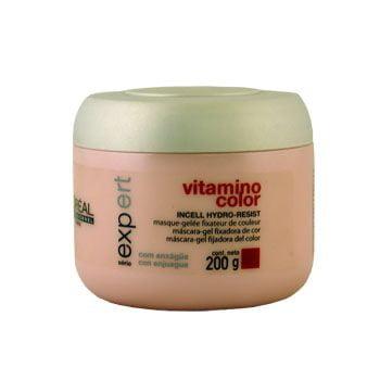 vitamino color - máscara gel fixadora de cor - l`oréal