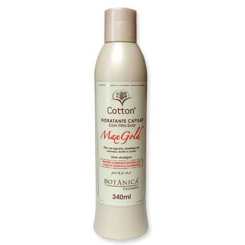 cotton - hidratante - botânica