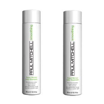 dupla super skinny - shampoo e tratamento - paul mitchell
