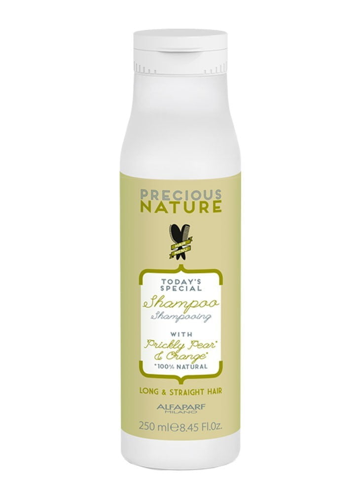 Precious Nature Long & Straight Hair Shampoo 250ml - Alfaparf