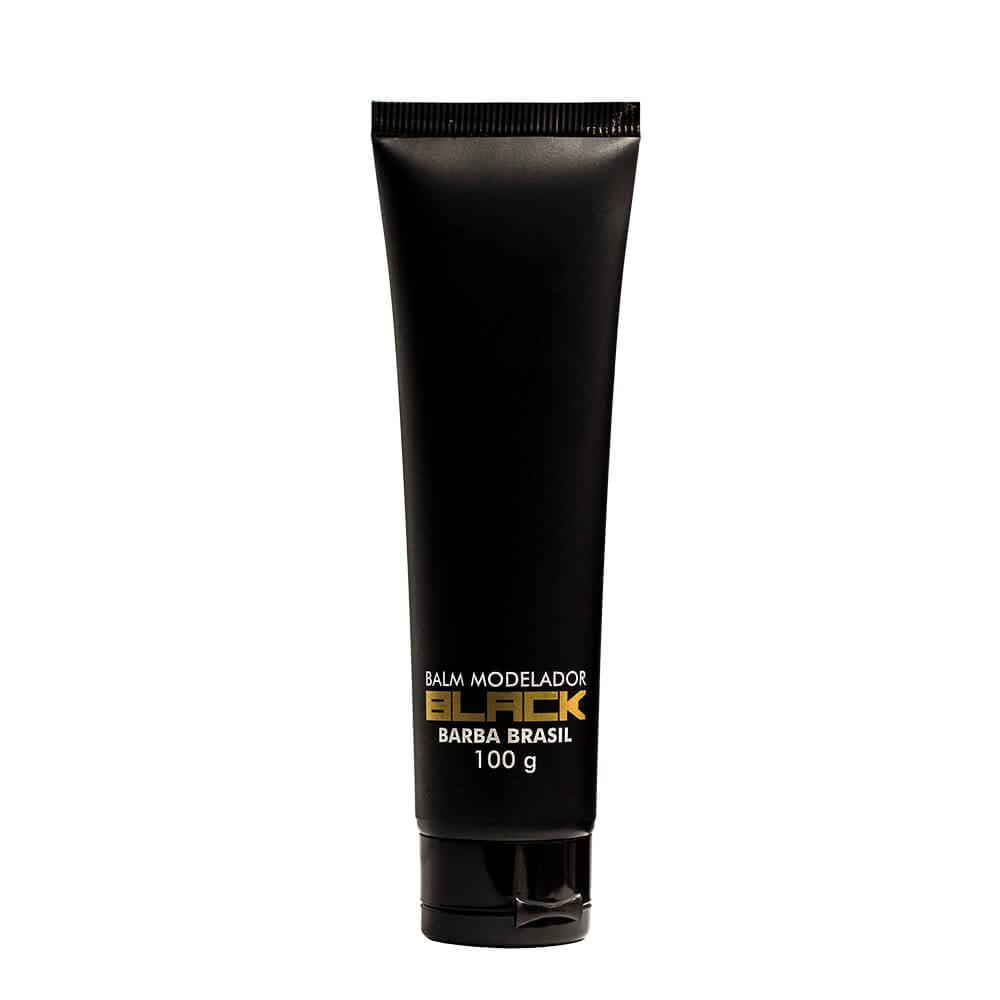 Balm Modelador Para Barba Black 100g - Barba Brasil