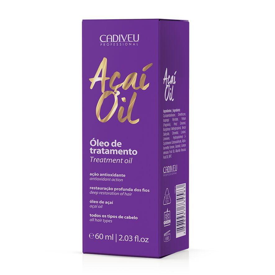 Açaí Oil Óleo de tratamento 60ml - Cadiveu
