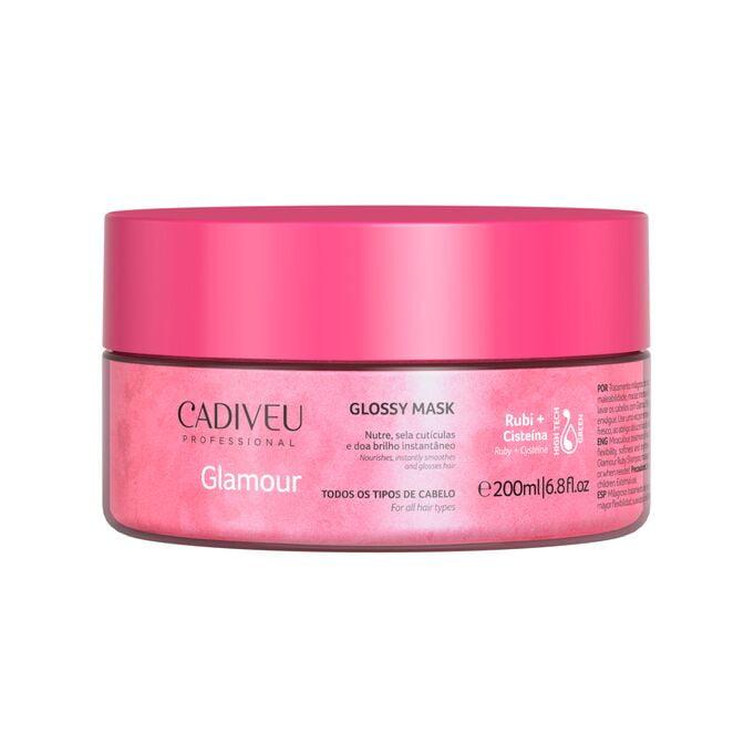 Glamour Rubi Glossy Mask 200ml - Cadiveu