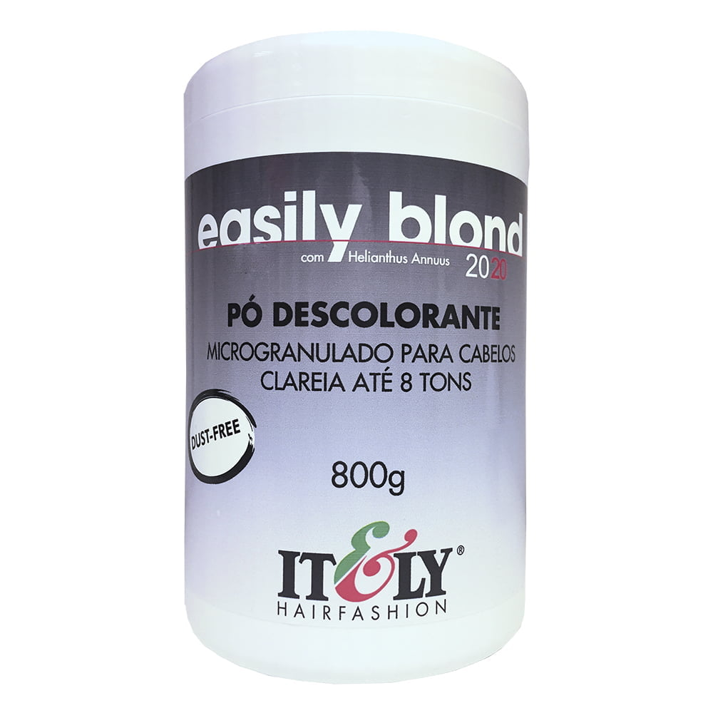 Itely Pó Descolorante Easily Blond 800g - Clareia até 8 tons
